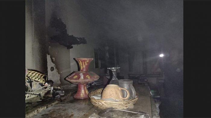 Diduga Dipicu dari Dupa yang Lupa Dimatikan, Satu Ruangan di Dinas Pertanian Tabanan Terbakar