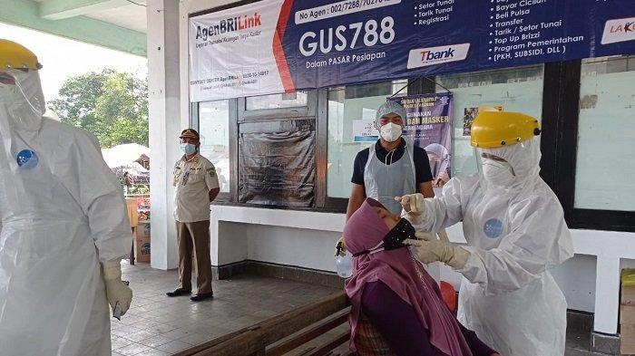 Selain Pemeriksaan Dokumen, Pada Masa Penyekatan Mudik Polda Bali Juga Adakan Swab Antigen Random