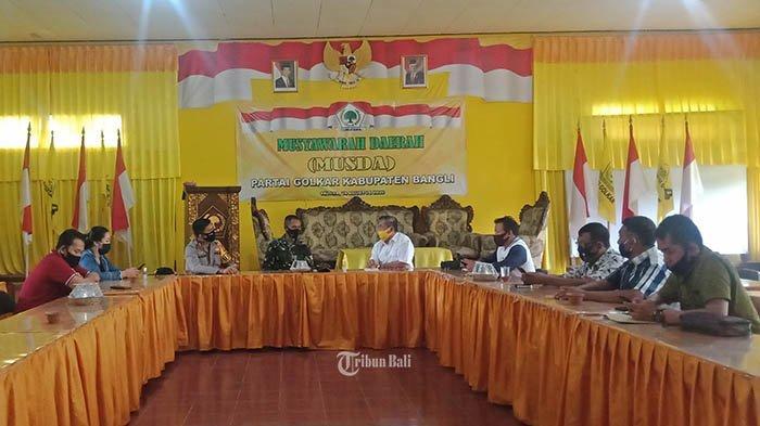 Jelang Pendaftaran Bakal Calon, Kapolres Bangli Bersama Dandim Datangi Sekretariat Parpol