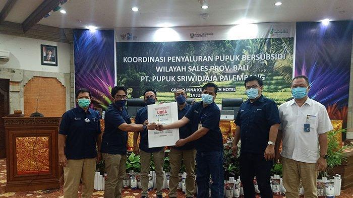 Jalin Silahturahmi, Manajemen Pusri Temui Distributor Pupuk di Provinsi Bali