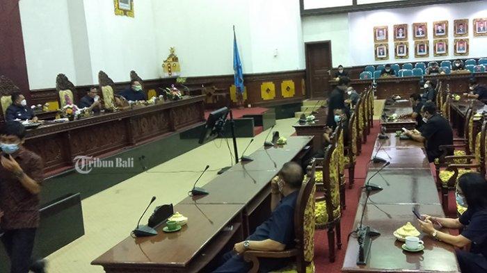 Fraksi DPRD Gianyar Setujui Perubahan APBD 2021