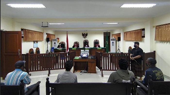 Sidang Kasus Pembunuhan di Bangli, Ayah & Anak Divonis Masing-masing 12 dan 18 Tahun Penjara