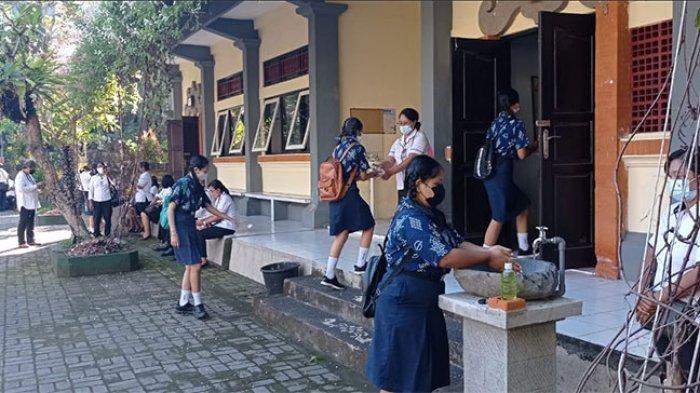 PTM di Tabanan Tunggu Restu Bupati, Skema Ditetapkan Siswa Masuk Dua Kali Seminggu