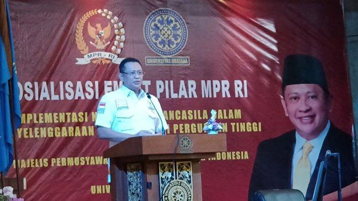 Peringati Hardiknas 2021, Universitas Udayana Bersama MPR RI Gelar Sosialisasi Empat Pilar MPR