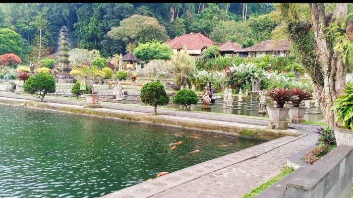 Wisata Taman Tirtagangga Belum Buka, Kini Tengah Persiapkan Prokes Ketat