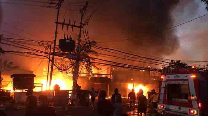 Pasar Blahbatuh Gianyar Ludes Terbakar, Ini Sekilas Sejarahnya