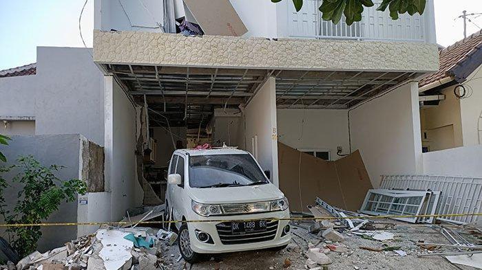 Tubuh Hugo Terluka Bakar, Ledakan Kompor Rusak Rumah di Puri Gading Jimbaran Bali