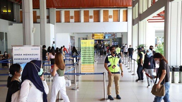 Pengelola Bandara Ngurah Rai Kawal Penerapan SE Gubernur Bali No 1/2021 Secara Ketat