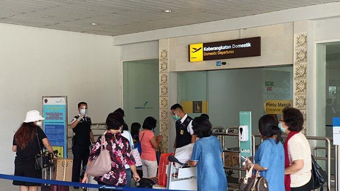 Jelang Pemberlakuan Larangan Mudik Lebaran 2021, Trafik Penumpang di Bandara Ngurah Rai Masih Normal