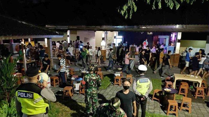 Tim Gabungan Disiplinkan Jam Malam di Kuta, Banyak Tempat Makan dan Hiburan Malam Melanggar Prokes