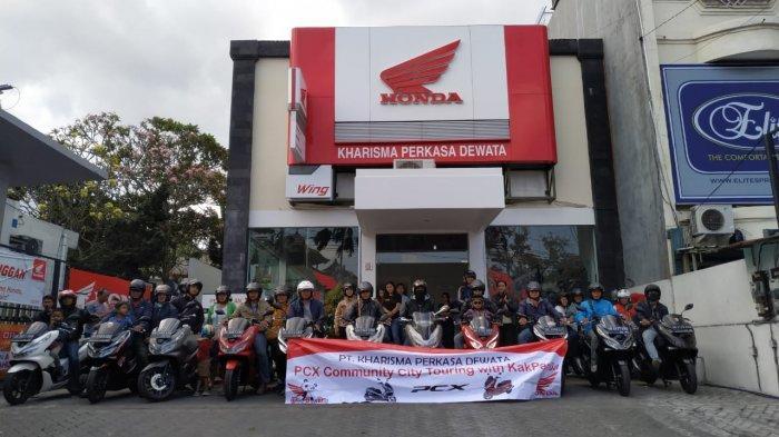Dealer Honda KPD Group Ajak Konsumen PCX Touring dan Gathering