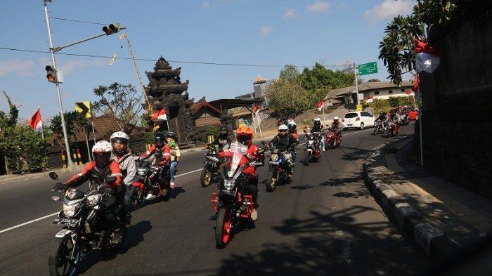 Honda Community Bali Touring Persaudaraan, Peringati HUT ke-74 RI