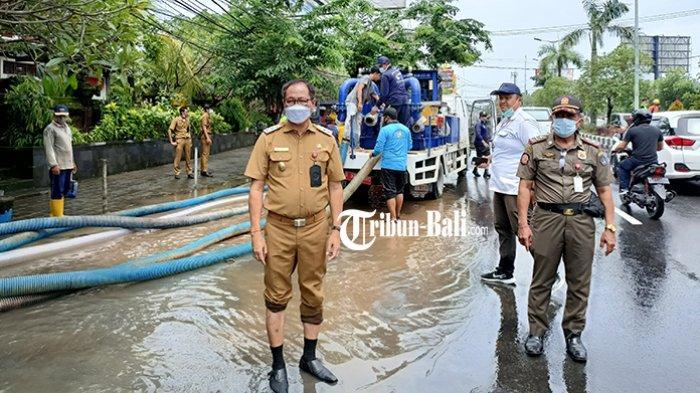 Kewenangan Pusat, Wabup Badung Akan Lakukan Koordinasi untuk Penanganan Luapan Air di Jimbaran