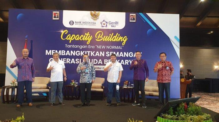 Dr Aqua Dwipayana Berikan Ilmu Komunikasi ke GenBI Binaan BI Bali