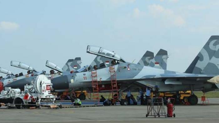Garang di Langit, Biaya Operasional Jet Tempur Sukhoi TNI AU Fantastis Setara Harga Mobil Ini
