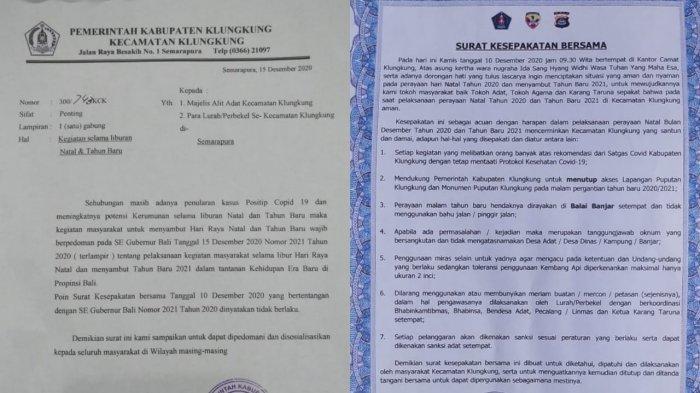 Surat Kesepakatan Bersama Diralat, Ada Poin Bertentangan dengan SE Gubernur Bali