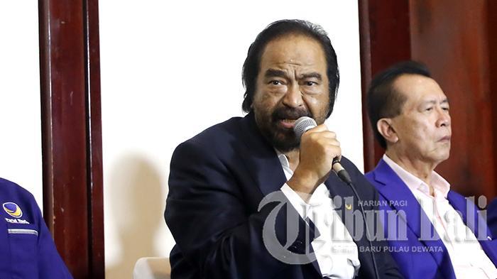Di Hajatan PDIP, Surya Paloh: Dia Perlukan Nasdem Boleh, Enggak Diperlukan Juga Nggak Apa-apa