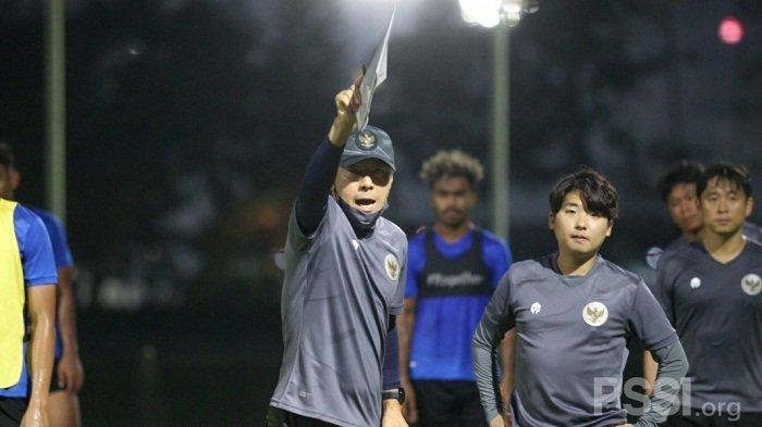 Susunan Pemain Timnas Indonesia U23 vs Tira Persikabo, Shin Tae-yong Turunkan Nadeo dan Evan Dimas