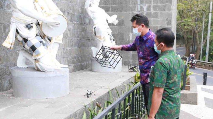 Lampu Sorot di Rest Area Klungkung Raib Diambil 'Tangan Jail', Suwirta: Saya Akan Pasang CCTV