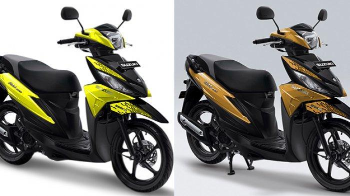 Warna dan Striping Baru Suzuki Address Playful Hadir di GIIAS 2019