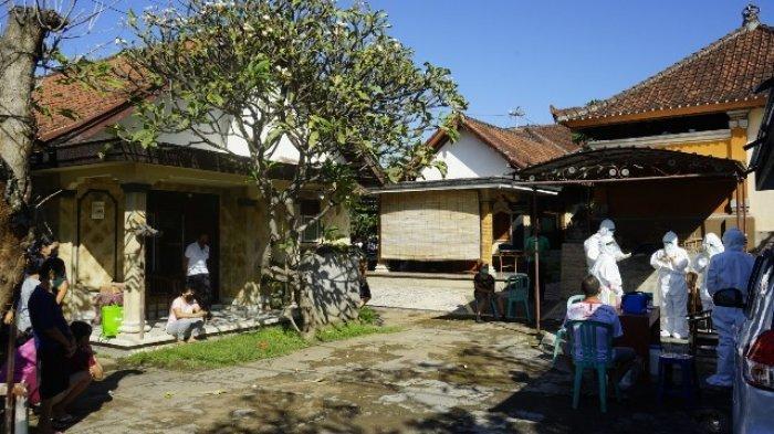 21 Anggota Keluarga Griya di Klungkung Dites Swab, Setelah Pensiunan Pejabat Positif Covid