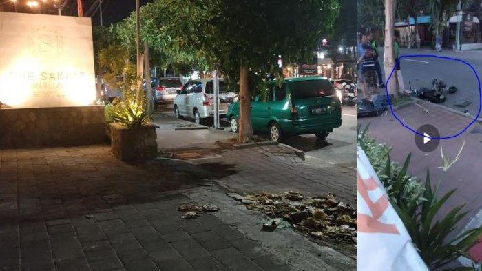 Kaki Melipat ke Dada, Motor Terbelah Dua, Driver Wanita Ojek Online Itu Tewas di Kuta