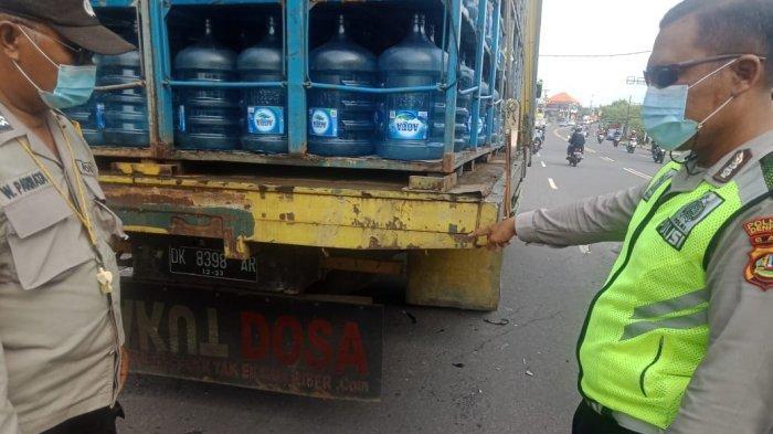 Lagi, Pengendara Motor Tewas Tabrak Truk, Pria Asal Lumajang Sempat Terpental di Cargo Denpasar