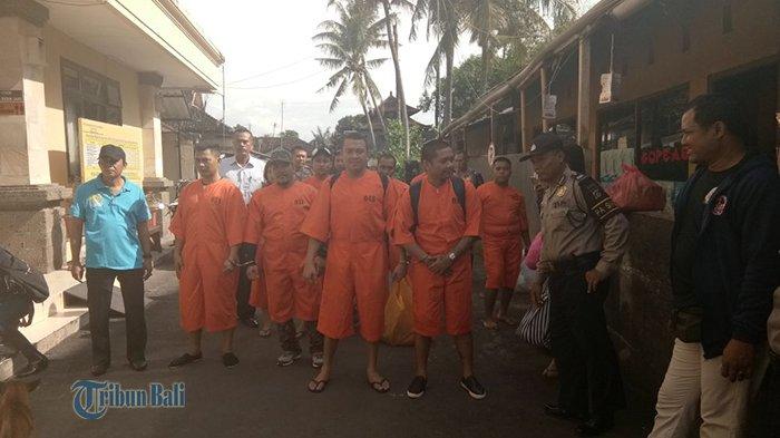 9 Tahanan Kasus Narkoba Dipindah ke Lapas Kerobokan