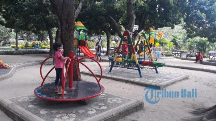 Lapangan & Taman di Denpasar Buka Terbatas, Sore Serta Hari Libur Pengawasan Diperketat