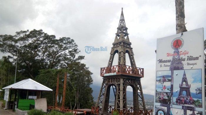 Selama Pandemi Virus Corona, Wisata Selfie 'Menara Bambu Hitam' Ini Ditutup Bagi Wisatawan