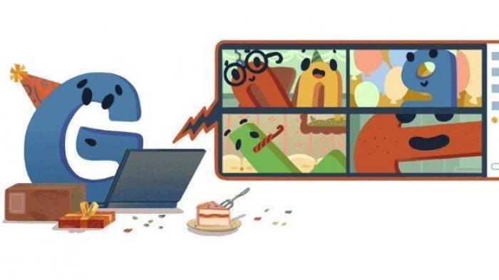 Google Rayakan Ulang Tahun ke-22 Hari Ini, Tampilkan Google Doodle Spesial, Begini Sejarah Google