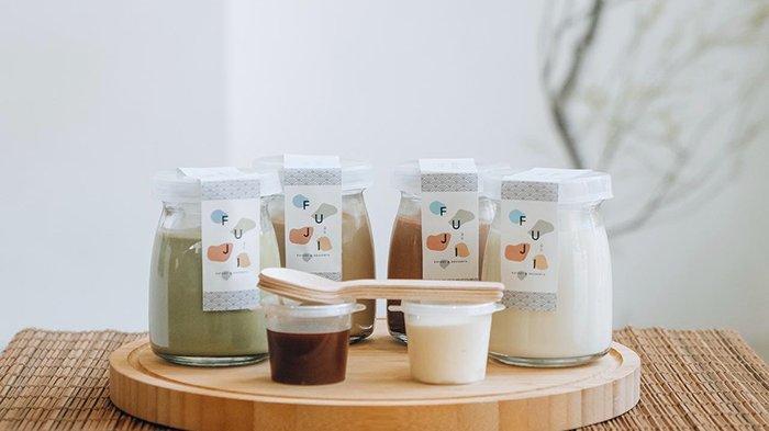 Makin Istimewa, Premium Japanese Pudding di Fuji Eatery & Dessert  Menggunakan Packaging Menarik - Tribun-bali.com