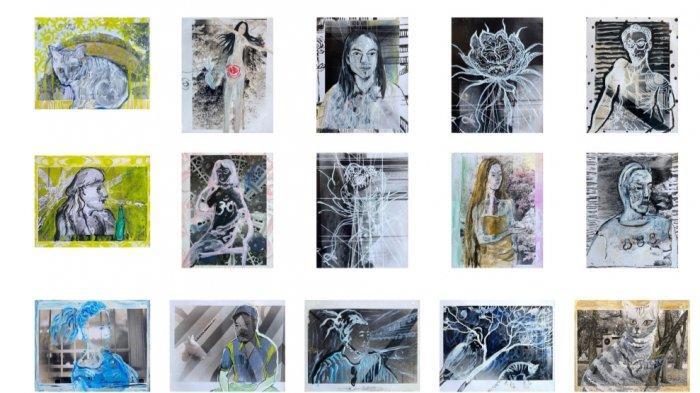 Seniman Funky Sun Gelar Pameran Tunggal Bertajuk'Obart', Hadirkan Puluhan Karya Menarik