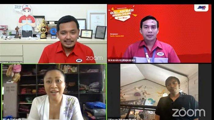 Denpasar Menjadi Kota Tujuan Kelima Digelarnya Webinar JNE Ngajak Online 2021
