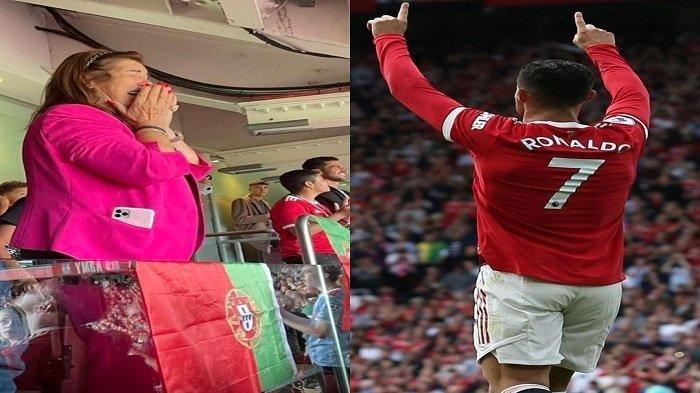 Tangisan ibunda Cristiano Ronaldo di Old Trafford