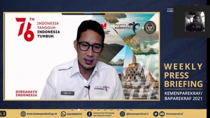 Menparekraf Sandiaga Uno Ungkap Potensi Bali Sebagai Destinasi Wisata Kesehatan