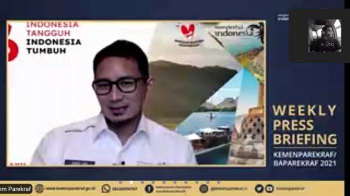 Sejumlah Tempat Wisata di Bali Buka, Menparekraf Ingatkan Para Pelaku Ekraf untuk Menahan Diri