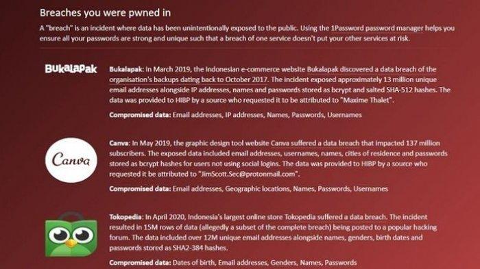Cara Cek Akun Tokopedia Diretas atau Bocor,Segera Ganti Password dan Hapus Akun Pembayaran