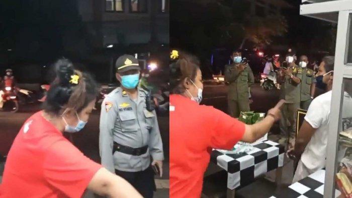 Viral Video Pedagang Protes Petugas, Kasatpol PP Denpasar: Belum Ngomong Ibu Itu Sudah Marah-Marah