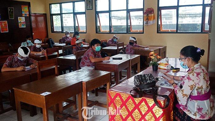 Sempat Jadi Satu-satunya Daerah di Bali yang Gelar Tatap Muka, Pembelajaran di Bangli Kembali Online