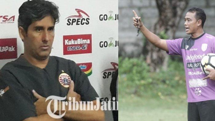 Bali United Vs Persis Solo, Adu Taktik Teco dan Eks Asistennya Eko Purdjianto