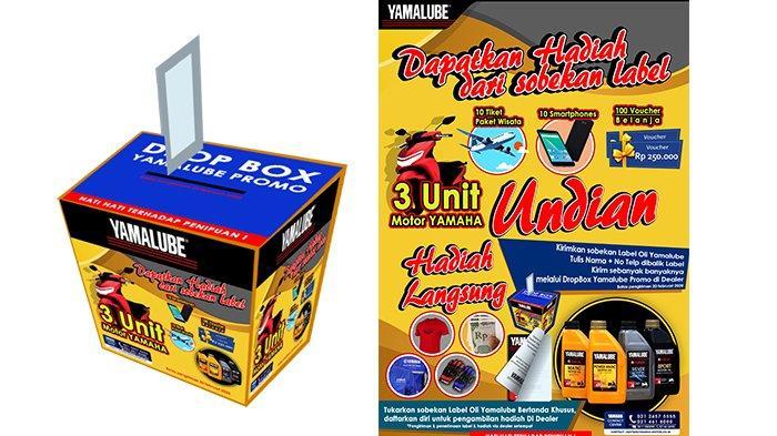 Temukan Beragam Hadiah di Balik Label Oli Yamalube!