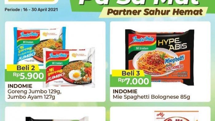 TERBARU, Promo Alfamart 19-30 April 2021, Mi Instan Rp7.000/3pcs, Paket Sembako Rp29.900