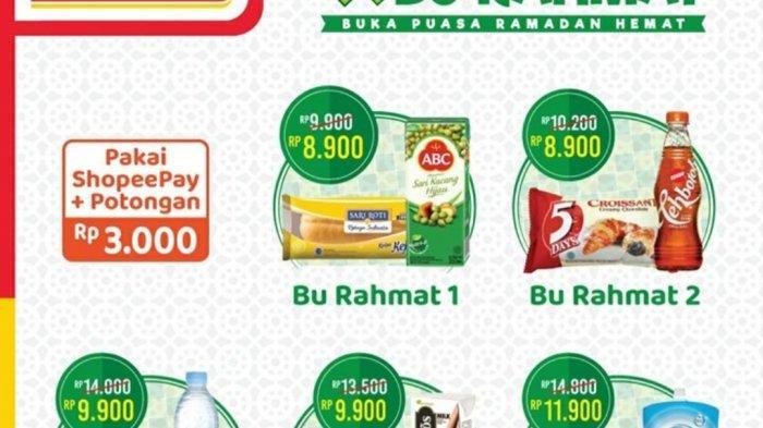 Promo Alfamart Jelang Ramadhan 2021, BANJIR DISKON, Paket Sembako Rp39.900, Paket Buka Puasa Rp8.900