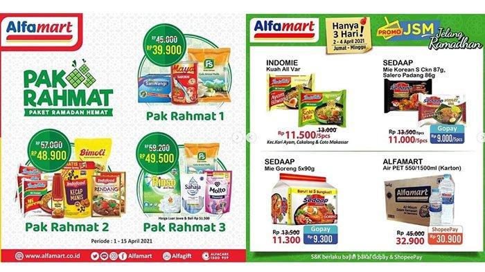 TERBARU Promo Alfamart Hari Ini 4 April 2021: Indomie 5pcs Rp11.500, Rinso Rp11.900, Biskuit Gratis