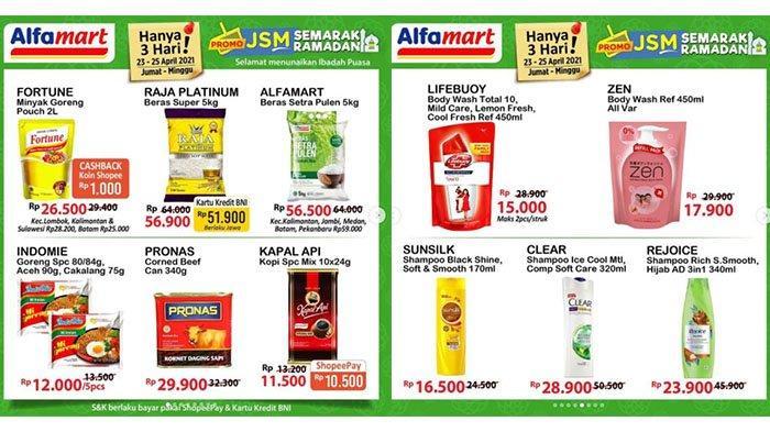 Promo JSM Alfamart & Indomaret 24 April, HARGA SUPER HEMAT: Kurma Tambah 1.000 Dapat 2, Rinso 11.900
