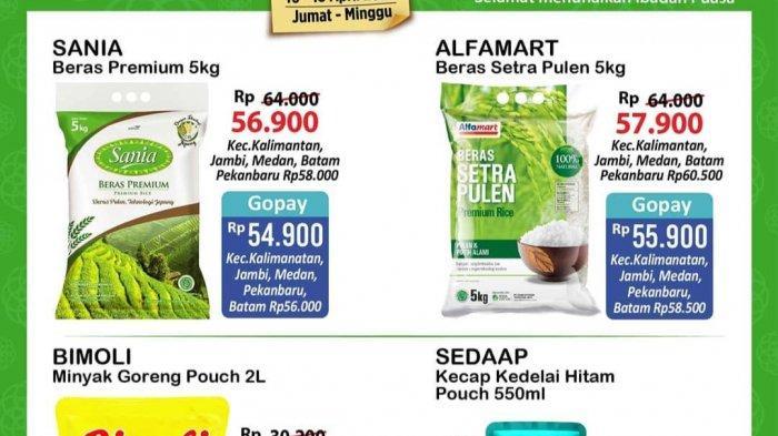 TERBARU! Promo JSM Alfamart & Indomaret 3 Hari ke Depan, Mi Instan 11.500, Sirup 3.700, Beras 53.900