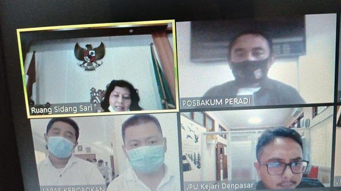 Ditangkap Saat Transaksi Sabu di Kamar Hotel Denpasar,Gede Adi dan Hubert Dituntut 12 Tahun Penjara