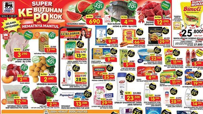 Promo Superindo 17 September 2021, Pantene Rp28.500, Keju Diskon 30%, Salmon Rp26 Ribuan