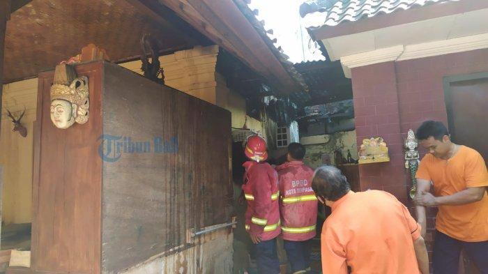 Kebakaran di Jalan Gunung Agung Denpasar, Polisi Sebut Hanya AC dan Atap yang Terbakar